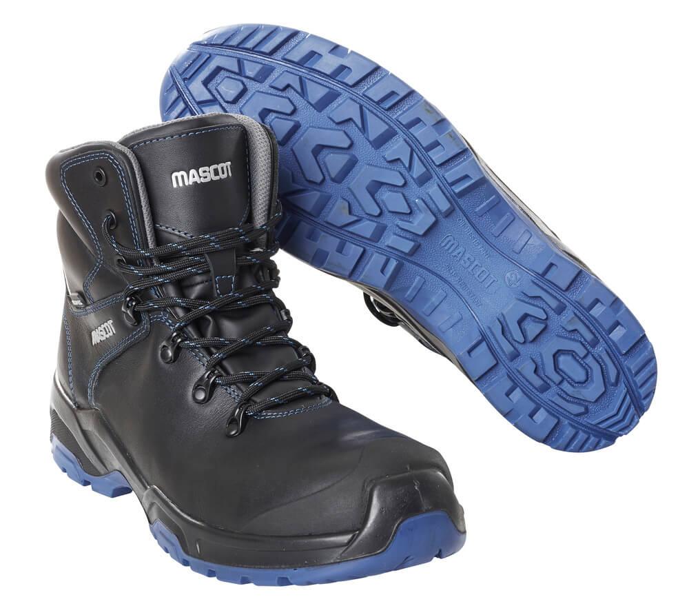 F0141-902-0901 Botas de seguridad - negro/azul real
