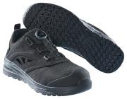 F0252-909-0909 Sandalias de seguridad - negro/negro