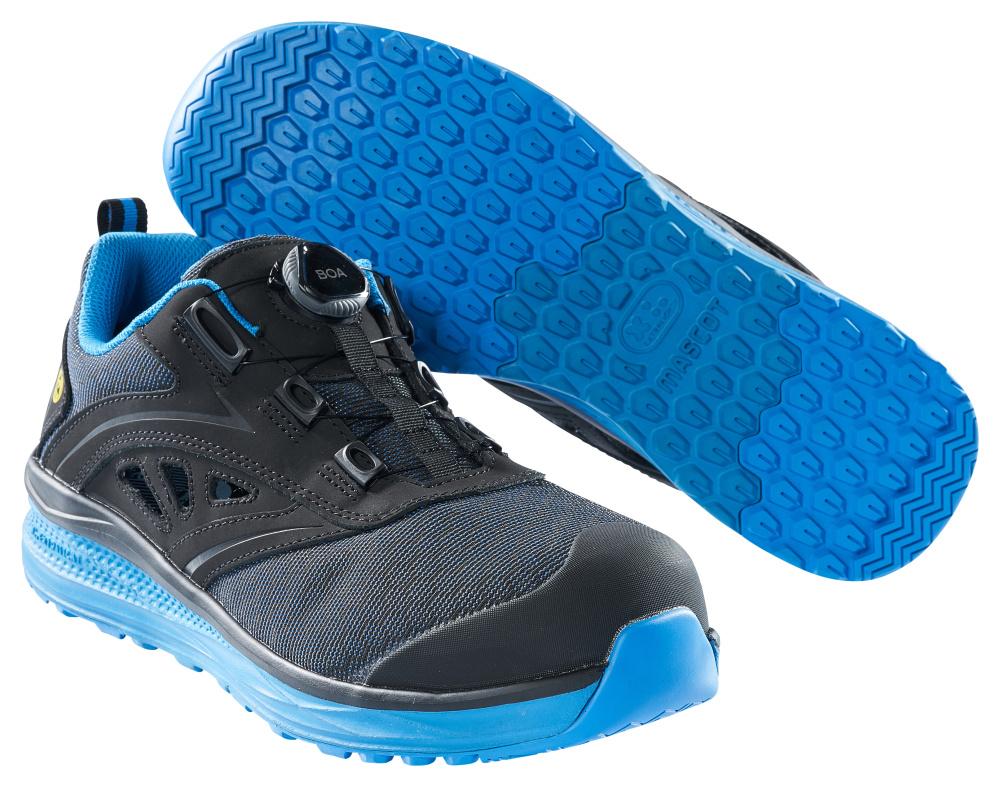 F0252-909-0911 Sandalias de seguridad - negro/azul real