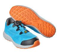 F0300-909-87 Zapatos de seguridad - Azul turquesa