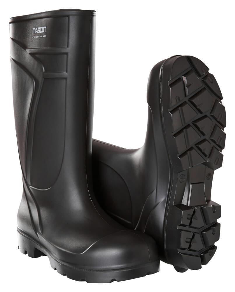 F0852-703-09 Botas de seguridad de PU - negro