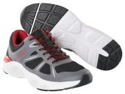 F0950-909-A84 Zapatillas - negro/antracita oscuro/rojo